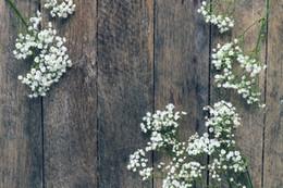 Canada Laeacco Printemps Vieux planche de bois Fleurs Toute la famille Photographie Arrière-plans Personnalisé Toile Photographique pour Photo Studio Offre