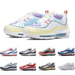2019 zapatos para hombre de nueva york Chaussures Men Designer Running Shoes Triple Black Gundam NYC Cone White Tour Yellow Hombres Mujeres Entrenador Zapatillas deportivas Zapatos Tamaño 36-46 rebajas zapatos para hombre de nueva york