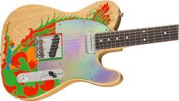 Canada Custom Shop Masterbuilt Jimmy Page Guitare électrique Dragon Natural avec illustrations Offre