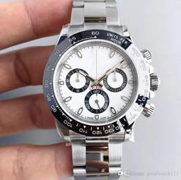orologio rosa caldo Sconti 2018 Luxury design 40mm quadrante 116509 orologio da uomo meccanico automatico, senza orologio da uomo cronografo