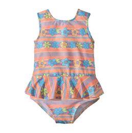2f2661ee91cf9 Baby Girls One-Pieces 2019 Summer Sleeveless Floral Swimsuit Toddler Kids  Baby Girl Ruffle Geometric Swimwear Bikini Bathing Suit 2-6T