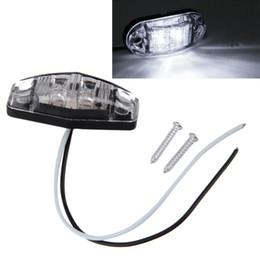 2019 montagem de superfície led diodo 1 Pcs LED Light 2 Diode 1x2.5 Superfície marcador Monte folga lateral Trailer Vermelho / Âmbar / Branco Car-styling venda quente montagem de superfície led diodo barato