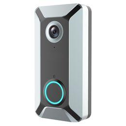 Yeni V6 açık çok fonksiyonlu akıllı WIFI video kapı zili kamera kablosuz uzaktan video sesli interkom ev gözetim kamera nereden akıllı uzaktan tedarikçiler