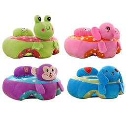 Bebê sentar brinquedos on-line-Algodão PP Aprendizagem Sentado Assento Infantil Do Bebê Aprendizagem Sentado Assento Portátil Infantil Brinquedo de Pelúcia Crianças 50 x 50x29 cm