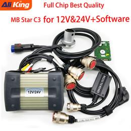 mb star diagnostic scanner Скидка Высочайшее качество MB Star C3 SD Connect C3 поддерживает 12V 24V автомобили и грузовики с NEC Реле автоматической диагностики сканера с программным обеспечением