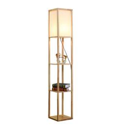 Canada Nordic solide bois lampadaire salon chambre chambre simple moderne canapé café chambre lampe de chevet debout lampe pour salon supplier solid wood lamps Offre