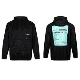 Herren Designer Hoodies Half Zipper Black Letter Print Sport Windjacke Active Hoodie Marke S 2XL Großhandel Fashion Casual Hoodies