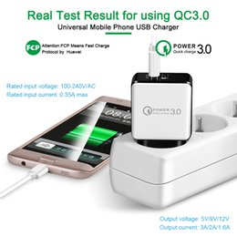 5v 3a ladegerät online-QC 3.0 Schnellladegerät USB 5V 3A Ladegerät + 3FT 2A USB Datenkabel