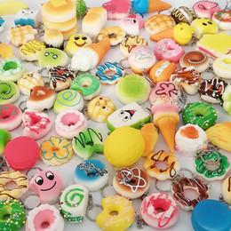 30 In 1 Kawaii Squishy Oyuncaklar Yavaş Yükselen Sıkmak Güzel Squishies Sevimli Yumuşak Mini Ekmek Kek dondurma Oyuncaklar Telefon Askıları Çocuklar Toptan nereden saydam el feneri tedarikçiler