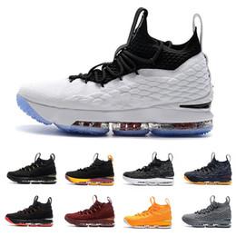 De calidad superior original 15 15 s zapatos de baloncesto para hombre zapatillas de deporte cenizas fantasma diseñador floral zapatillas de deporte al aire libre zapatillas deportivas James Eur40-47 desde fabricantes
