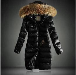2020 Classic Casual Marca Donna Inverno donna Collo di pelliccia giacche lunghe da donna cappotti caldi Parka antivento uomo da