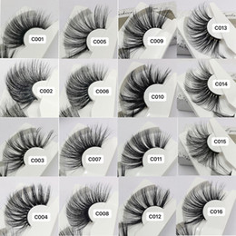 1d241fa62bc dramatic false lashes Promo Codes - 2019 NEW 30mm 3D Mink Eyelashes 16  Style False Eyelashes