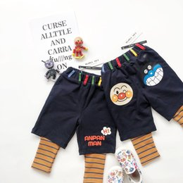 leggings plus chauds Promotion 2-in-1 Toddler Boy Pants Fille Leggings Adolescent Garçon Vêtements Garçons Pantalon Filles Ruffle Glaçage Leggings Chaud Hiver
