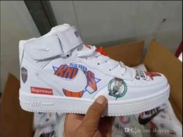 NKK New Kids Air Sneakers Schuhe für Jungen Grils Authentic All White Kinder Trainer Sport Laufschuhe Größe 36-44 von Fabrikanten