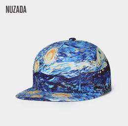 b5a21e3d379 NUZADA Punk Street Fashion Men Women Couple Baseball Cap Spring Summer Caps  Bone Snapback Original 3D Print Art Design Hat