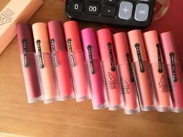 Batom impermeável 3ce on-line-New 10 Cores 3CE Matte Batom Mais Quente de Longa Duração À Prova D 'Água 3CE Veludo Lip Tint Matte Nude Lip Sticks dropshipping