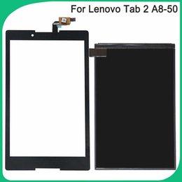 2019 a8 lcd Новый A8-50 LCD сенсорный экран для Lenovo Tab 2 A8-50F Таб2 A8-50LC ЖК-дисплей Сенсорный датчик стекла дигитайзер панели дешево a8 lcd