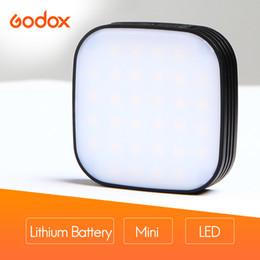GODOX LEDM32 Mini luz de video móvil Batería de litio Iluminación LED Brillo ajustable para teléfonos con fotografía desde fabricantes