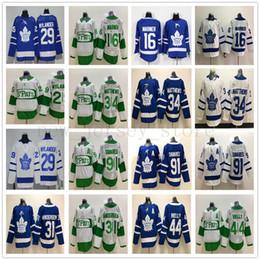 2019 maillot mitchell Nouveau hockey des Maple Leafs de Toronto 34 Jersey Auston Matthews 91 John Tavares 29 William Nylander 16 Mitchell Marner 31 Frederik Andersen maillot mitchell pas cher