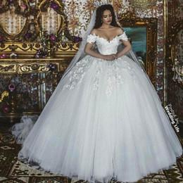 2019 vestidos de vestidos de baile victoria 2019 victoria princesa vestido de baile vestidos de noiva peru fora do ombro tule saia apliques de renda plus size vestidos de noiva vestido de noiva desconto vestidos de vestidos de baile victoria
