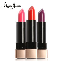$enCountryForm.capitalKeyWord UK - Maria Ayora Matte Lipstick Shiny Crayon Glitter Maquillage Lip Stick Pearl Moisturizer Waterproof LongLasting Jelly Lipsticks MK602