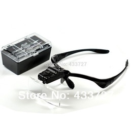 $enCountryForm.capitalKeyWord NZ - Free Shipping 5 Lens 1.0X1.5X2.0X2.5X3.5X Head Headband LED Headlamp Lighted Magnifying Magnifier Glass Function Loupe - RUA