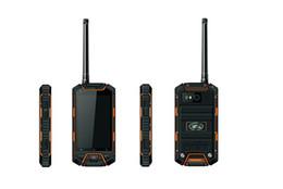 Оригинальный V6 IP68 прочный водонепроницаемый телефон MTK6572 Мобильные телефоны Android Walkie Talkie PTT 2-way radio long range 3G GPS