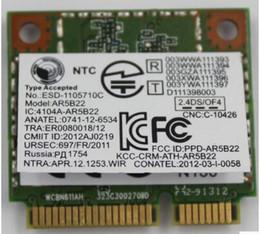 Discount pci card mini - Wholesale- Atheros AR9462 AR5B22 WB222 Half Mini PCIe Wireless 300M+BT4.0 Card for Lenovo Thinkpad Y400 Y500 Y410P u430