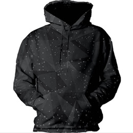 3d hoodies printed sweatshirt UK - Wholesale- Fashion Sweatshirts 3d print Black with hat Unisex Sweatshirts Women Men Harajuku casual hoodies size S-5XL dropshipping S-5XL