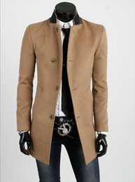 Dark Brown Trench Coat Online | Men Dark Brown Trench Coat for Sale