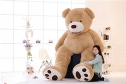 quality plush toys Australia - 260cm Giant American Bear Teddy Bear Coat Good Quality Bear Plush Stuffed Toys Soft Toys For Birthday Gift And Valentine's Day