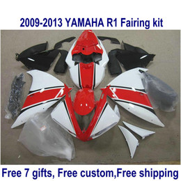 $enCountryForm.capitalKeyWord Canada - 7 free gifts fairing kit for YAMAHA R1 2009-2013 black red white fairings set YZF R1 09 10 11 12 13 HA42