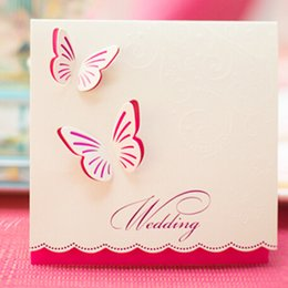 Invitation Cards Butterfly Design Online | Invitation Cards ...