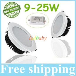 Nature spray online shopping - Newest W W W W W W Led Downlights Spray White Body SMD5730 Cool Warm White Led Recessed Down Lights V Drivers