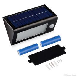 32 LED 400 Lumen Waterproof IP65 Solar Powered Light Lamp Outdoor Motion  Sensor Light Stairway Path Landscape Garden Floor Wall Patio Lamp