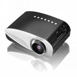 Projectors For Videos Canada - Mini Portable 1080Full HD Easy Micro Projector EMP GP8S LCD Home Theater Beamer with Double HDMI for SD USB TV AV VGA Video Movie Proyector