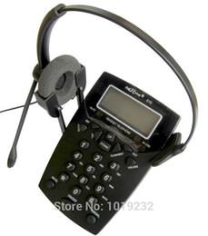 $enCountryForm.capitalKeyWord Canada - Wholesale-Free Shipping Call Center Phone Dialpad Headset Telephone with Tone Dial Key Pad & REDIAL RJ9 plug headset office phone