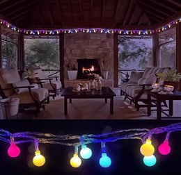 $enCountryForm.capitalKeyWord NZ - SXI Free shipping 1pcs lot waterproof white 8 modes 6m 40 LED fairy led string light ball for indoor decoration