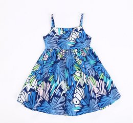 China 2018 Girls summer sleeveless princess Cotton dress kids embroidery dress baby birthday party clothes for 1-5T cheap organic dresses for 4t suppliers