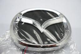 $enCountryForm.capitalKeyWord Canada - 4D logo LED light with car decorative lights lamp Car Sticker badge for MAZDA 2 3 CX7 mazda8 12.0cm*9.55cm free shipping