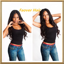$enCountryForm.capitalKeyWord Canada - 2016 Hot Selling 8A Body Wave 1#,1b,2#,4#,Natural Color Malaysian Virgin Hair Lace Front wig 130% density with baby hair free shipping
