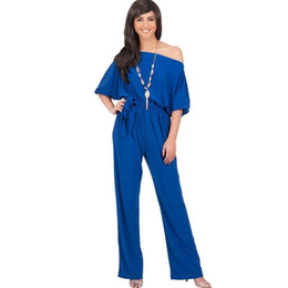 Barato Macacões Grossistas Mulheres-Wholesale- Factory Wholesale XXL Plus Size Mulheres Vestuário 2016 New Fashion Sexy Jumpsuits Overalls estilo europeu das mulheres Rompers