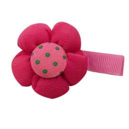 $enCountryForm.capitalKeyWord NZ - Wholesale- Mint Cute Candy Color Flower Hair Clips Baby Girl Hairpin Child Hair Accessories Jul04