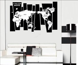 Famous Trees Canada - Tree Trunk Wall Decal Sticker Seven Continents World Map Wall Tattoo Poster Home Decoration Wall Applique Graphic Wallpaper Decor
