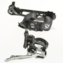 Road Cycling Speed NZ - SRAM Cycling Bicycle Parts Deraillers X7 Front Derailleur & Rear Derailleur 3 x 10S
