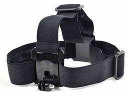 China Gopro Accessories Elastic Adjustable Nylon Head Strap Belt Head Band Mount Adapterfor Camera HD Hero 1 2 3 3+ sj4000 cheap gopro hd hero wholesale suppliers