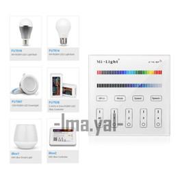 $enCountryForm.capitalKeyWord UK - 2017 new Mi Light Touch Screen RF Panel Controller 4-Zone 2.4G RF Adjustable Mi-Light RGBW Bulb Led Panel 86 wall Controller