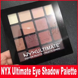 Warm matte makeup palette online shopping - NYX Professional Makeup Warm Neutrals Eyeshadow Palette color eyeshadow palette NYXULTIMATE matte eye shadow