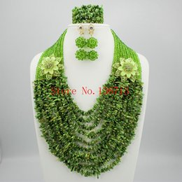 $enCountryForm.capitalKeyWord Canada - Nigerian Wedding Coral Beads Jewelry Set Women African Beads Jewelry Set for wedding HD103-1