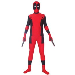 $enCountryForm.capitalKeyWord Canada - 2015 adult child Newest Hot Deadpool Spandex Deadpool Costumes Halloween Party Cosplay zentai suit